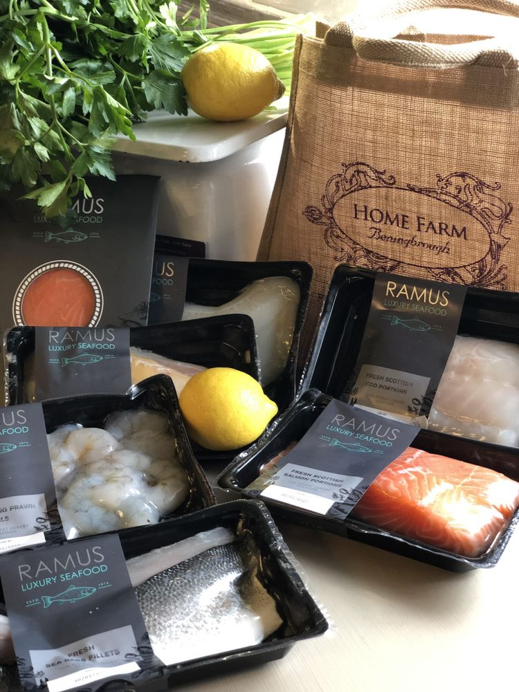 Home Farm Beningbrough Ramus Luxury Seafood