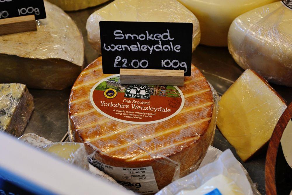 Home Farm Beningbrough cheese counter