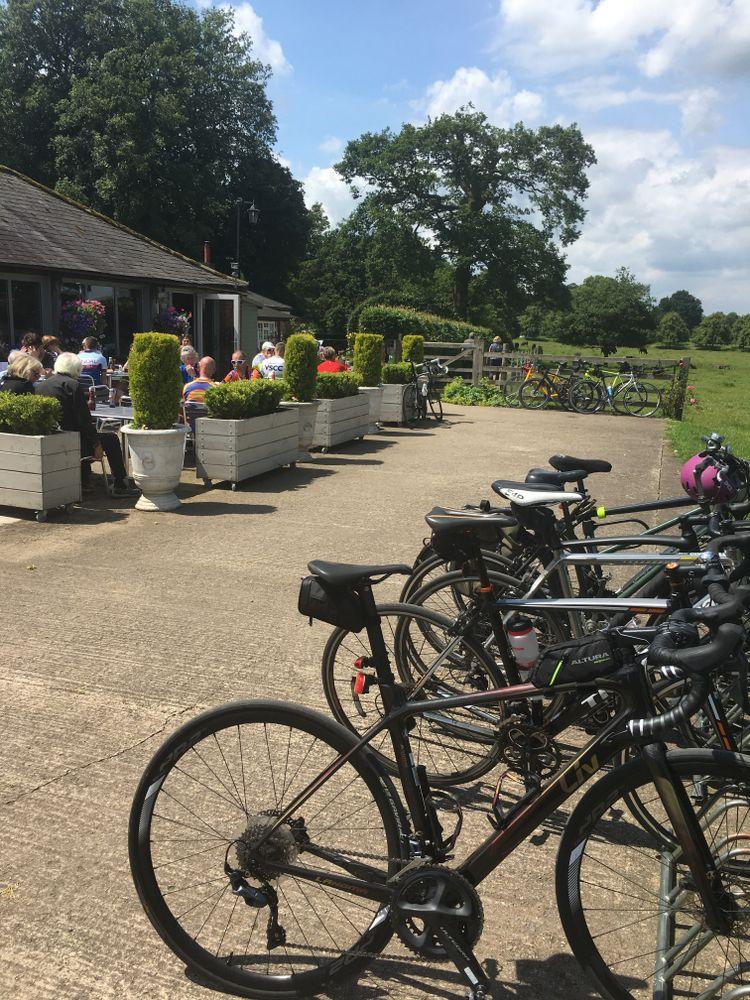 Home Farm Beningbrough love cyclists