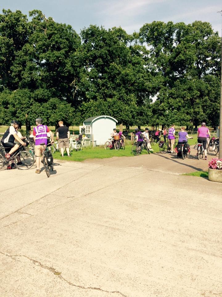 Cyclists love Home Farm Beningbrough
