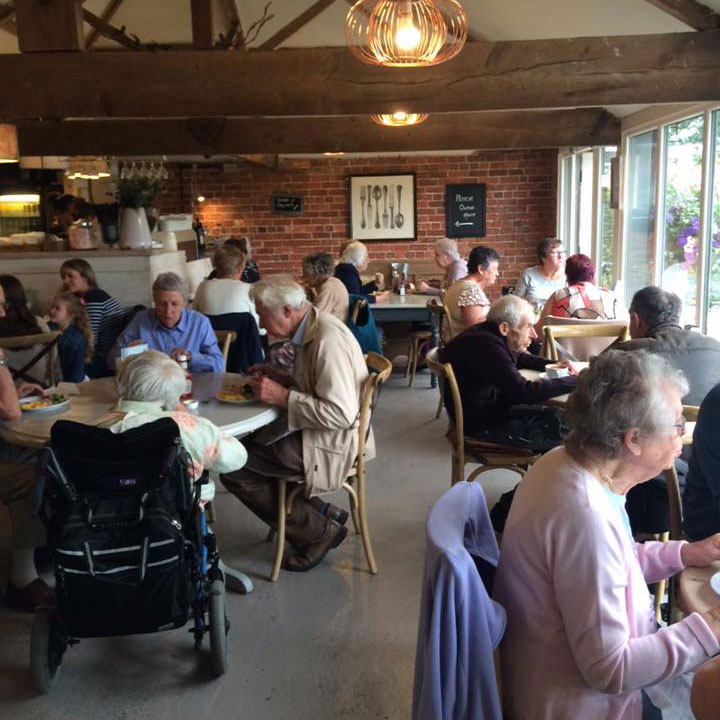 Home Farm Beningbrough Pensioners Lunch