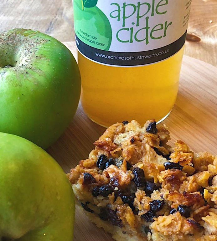 Home Farm Cider and Apple Cake