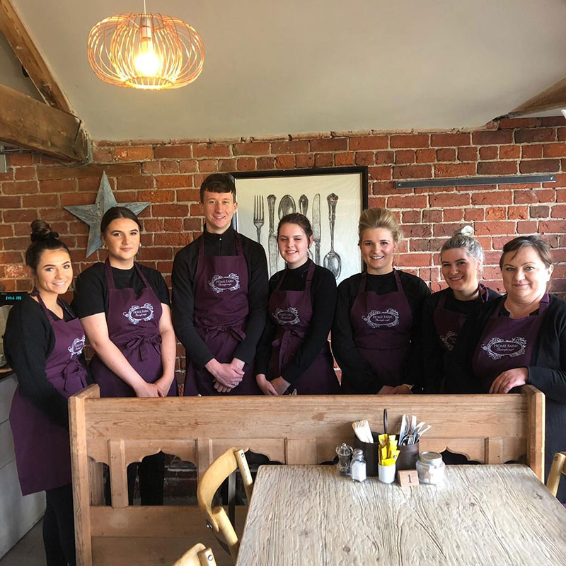 Saturday Staff at Home Farm Beningbrough
