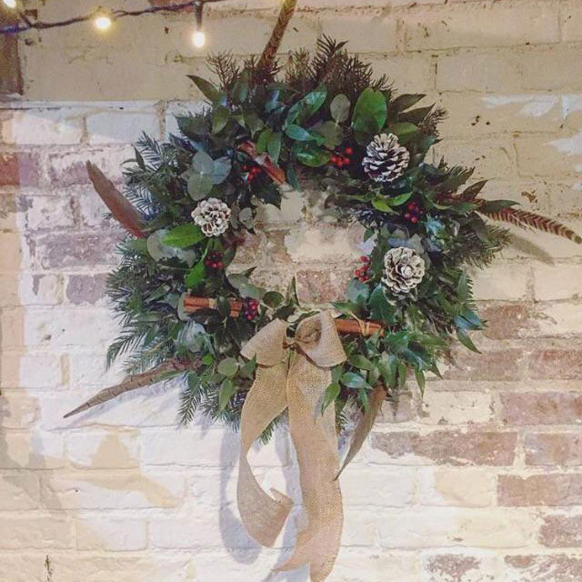 Wreath Making at Home Farm Beningbrough